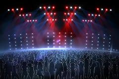 Digital nightclub Stock Images