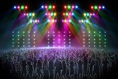 Digital nightclub Stock Image