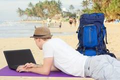 Digital nomad Stock Photo