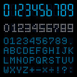 Digital number. This graphic is digital number Stock Images