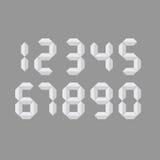 Digital number  art illustration Royalty Free Stock Photos