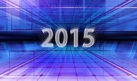 Digital oblicza 2015 Zdjęcie Royalty Free