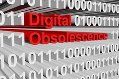 Digital obsolescence Royalty Free Stock Image