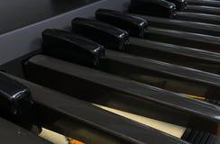 Digital Organ Pedals Stock Photo