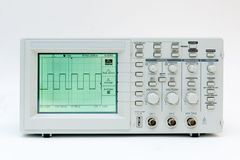 Digital oscilloscope Royalty Free Stock Photography