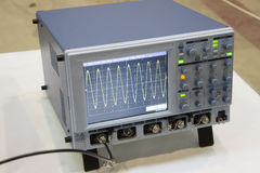 The digital oscilloscope. Stock Images