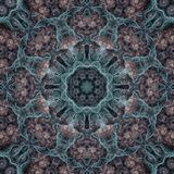 Digital painted mandala design background Royalty Free Stock Images