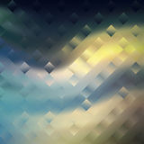 Digital painted texture square background. Abstract illustration Stock Photography