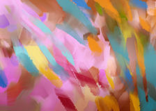 Digital painting abstract background Royalty Free Stock Images