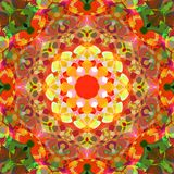 Digital Painting Abstract Colorful Floral Mandala Background. Digital Painting Beautiful Abstract Colorful Floral Mandala Background royalty free illustration