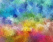 Digital Painting Abstract Cosmic Fields in Dark Pastel Color Background. Digital Painting Beautiful Abstract Multi-Color Water Color Paint Cosmic Fields in Dark Royalty Free Stock Images