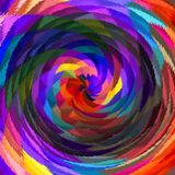 Digital Painting Abstract Colorful Background. Digital Painting Beautiful Abstract Colorful Background Stock Photography