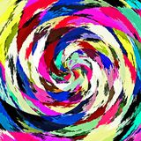 Digital Painting Abstract Colorful Background. Digital Painting Beautiful Abstract Colorful Background Royalty Free Stock Images