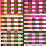 Digital Painting Beautiful Abstract Colorful Chaotic Rectangular Pattern Background. Abstract Rectangular Pattern in Multi-Colors Background Stock Image