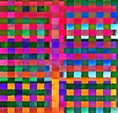 Digital Painting Beautiful Abstract Colorful Chaotic Rectangular Pattern Background. Abstract Rectangular Pattern in Multi-Colors Background Royalty Free Stock Photo