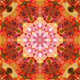 Digital Painting Abstract Colorful Floral Mandala Background. Digital Painting Beautiful Abstract Colorful Floral Mandala Background vector illustration