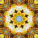 Digital Painting Abstract Colorful Floral Mandala Background. Digital Painting Beautiful Abstract Colorful Floral Mandala Background stock illustration