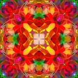 Digital Painting Beautiful Abstract Colorful Floral Mandala Background Royalty Free Stock Image