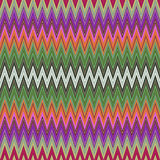 Digital Painting Beautiful Abstract Colorful Wavy Triangular Zigzag Texture Layer Pattern Background. Abstract Colorful Zigzag Texture Pattern in Multi-Colors Stock Photos