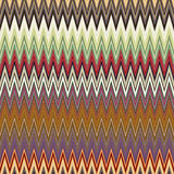 Digital Painting Beautiful Abstract Colorful Wavy Triangular Zigzag Texture Layer Pattern Background Stock Images