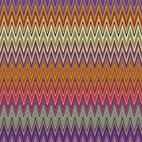 Digital Painting Beautiful Abstract Colorful Wavy Triangular Zigzag Texture Layer Pattern Background. Abstract Colorful Zigzag Texture Pattern in Multi-Colors Stock Image
