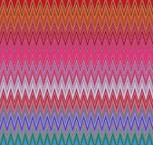 Digital Painting Beautiful Abstract Colorful Wavy Triangular Zigzag Texture Layer Pattern Background Royalty Free Stock Image