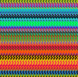 Digital Painting Beautiful Abstract Colorful Wavy Triangular Zigzag Texture Layer Pattern Background Royalty Free Stock Photos