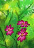 Digital Painting, Floral, Plant Royalty Free Stock Image
