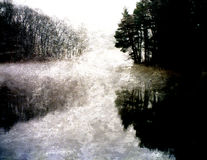 Digital Painting Landscape royalty free stock photo