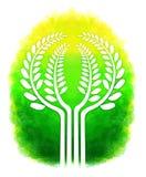 Digital painting tree design Royalty Free Stock Photos