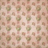 Regency Era - Jane Austen Inspired - Vintage Shabby Chic Roses Pattern - Digital Paper Background - Roses - Pride & Prejudice royalty free illustration