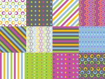 Digital Paper Pack Stock Photos
