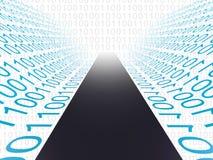 Digital Path Indicates High Tech And Computer Stock Photo