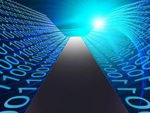 Digital Path Represents Hi Tech And Data Stock Images