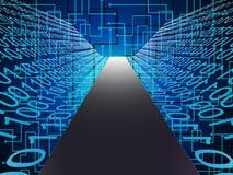 Digital Path Represents High Tec And Data Stock Photos