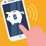 Digital payment design. Stock Photography