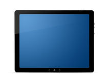 Digital PC tablet with clipping path stock illustration