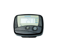 Digital Pedometer. On a white background Royalty Free Stock Photography