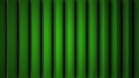 Digital perfectly loop of abstract green shade vertical lines moving background animation. Vertical moving stripes 3D. Animation Royalty Free Stock Image