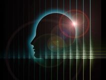 Digital Perspectives of the Mind Royalty Free Stock Photo