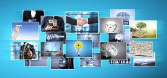 Digital photo album Stock Image
