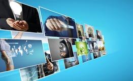 Digital photo album Stock Photography