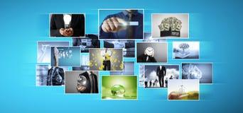 Digital photo album Stock Images