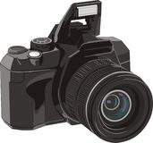 Digital photo camera Stock Photography