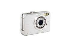 Digital photo camera Stock Image