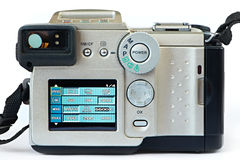 Digital photo Camera - back view Royalty Free Stock Photos