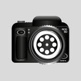 Digital photo camera reel film pin Stock Image
