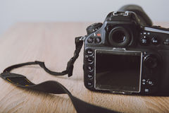 Digital photo camera. Royalty Free Stock Photography