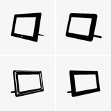Digital photo frames Stock Photo