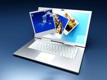 Digital Photo Gallery Royalty Free Stock Photo